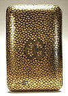 Japanese Mixed Metal (Silver and Gold) Cigarette Case