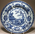 Fine Chinese Export Charger - Kangxi Period 1662-1722