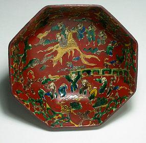 Set of Five Small Mokubei Bowls