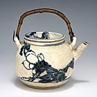 Seifu Yohei I Japanese Edo Pottery Tea Pot