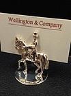 Sterling Silver Dressage Horse Place Card Holders Set/6