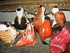 Assorted Stirrup Cups Equestrian Fox Dog