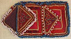 A vintage Pashtun beaded purse from Afghanistan