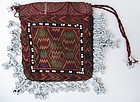 An embroidered tobacco pouch from Indus Kohistan