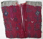 A child's front dress yoke from Waziristan