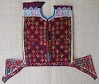 A child's embroidered dress yoke from Afghanistan