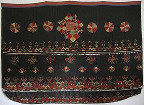 A woman's wedding shawl from Indus Kohistan