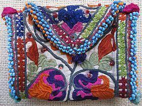 A small Hazara purse from Bamiyan province