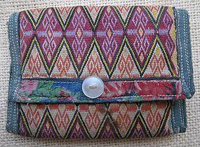 A small purse from Bamiyan in brick stitch