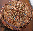 A Turkman Yomut child's cap  from Herat - circa 1950