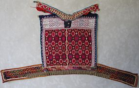 A child's shirt front from Ghazni province, Afghanistan