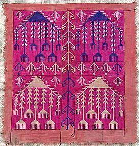 An Uzbek embroidery, mid 20th century