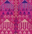 An Uzbek embroidery, mid 20th century