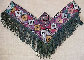 An Uzbek saye gosha from northern Afghanistan