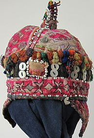 A child's hat from Indus Kohistan, mid-late 20th c.
