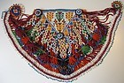 A woman's beaded dress panel from Afghanistan