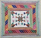 A silk embroidered Hazara textile