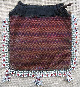 A beaded purse from Indus Kohistan, Pakistan