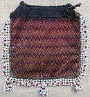 A beaded purse from Indus Kohistan, Pakistan