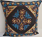 A cushion cover from Swat Valley, Pakistan