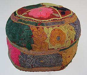 A vintage lady's hat from Bamiyan, Afghanistan