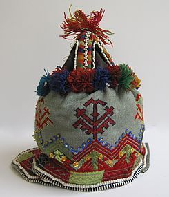 A young child's hat from Indus Kohistan
