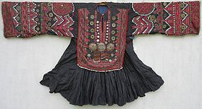 A traditional dress from Indus Kohistan