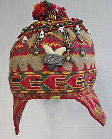 A child's cap from Indus Kohistan