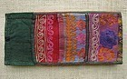 A finely embroidered purse from Bamiyan