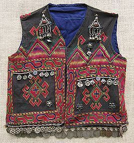 A child's waistcoat from Indus Kohistan, Pakistan