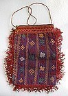 A lady's cotton embroidered purse from Afghanistan