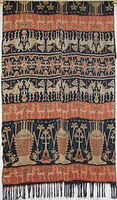 A hinggi from East Sumba, Indonesia - mid 20th century