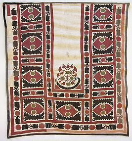 A wedding textile from northern Afghanistan