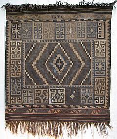 A kilim from northern Afghanistan