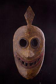 Old primitive mask, North West Nepal, Himalaya