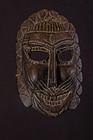 Very old primitive mask, India, Himalaya