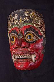 old balinese mask, Bali, indonesia