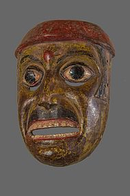 Antique Ramayana himalayan mask, India , Nepal
