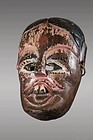 Ramayana mask with large teeth, Himalaya, Nepal, India