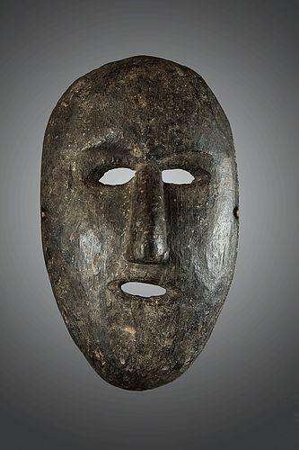 Minimal primitive mask, Himalaya,Nepal