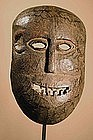 Very old Mask from Santal Peoples,India, Himalaya