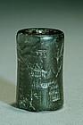 Mesopotamian large �Akkadian�seal, circa 2300-1600 BC.