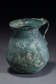 A Greek-Hellenistic Bronze Olpe, 400 B.C.