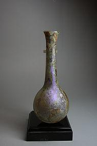 Roman Glass Jar, 100- 300 AD.
