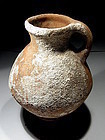 "Iron Age I ""Israelite"" Terracotta Wine Jar, 1000 BC."