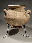 Late Bronze Age �Canaanite� Pottery Jar, 1550-1200 BC.