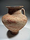 Nabatean Terracotta Carinated Bolw, 200-0 BC.