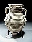 Roman Herodian Terracotta Wine Amphora, 37 BC - 70 AD.