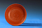 Roman Reddish Terracotta Plate, 50-350 AD.