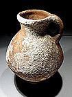 """Iron Age I """"Israelite"""" Terracotta Wine Jar, 1000 BC."""